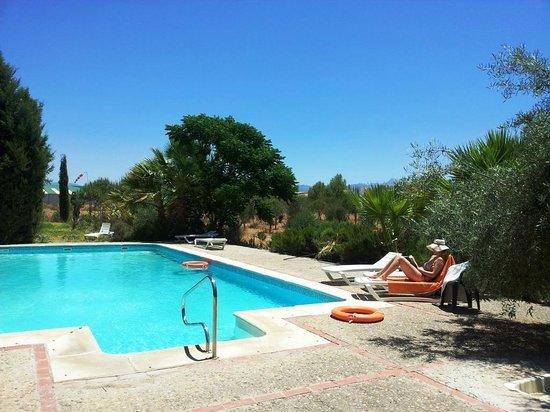 Hotel La Antigua Estacion: Pool