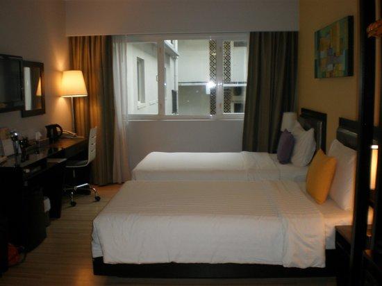 โรงแรมบรูไน: Twin room