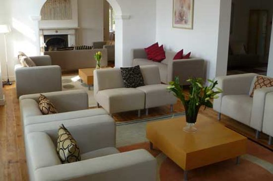 Bae Abermaw: Lounge area