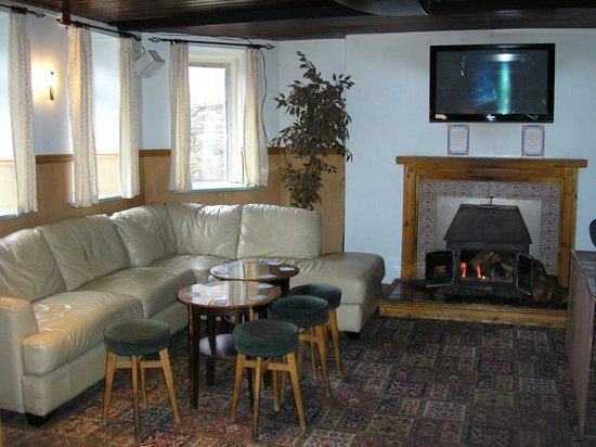 The Sutherland Hotel: nice fire nice pub
