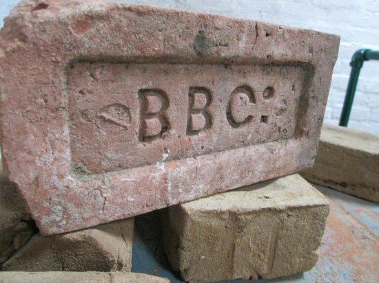 Bursledon Brickworks Industrial Museum: A brick with our distinctive logo