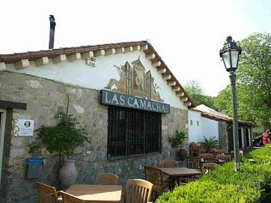 Las Camachas: Aquí se aprecia el poco espacio de la terraza