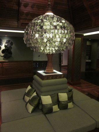 The Privilege Floor by BOREI ANGKOR: Upstairs lobby
