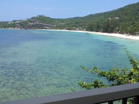 High Life Bungalow Resort: View from our room