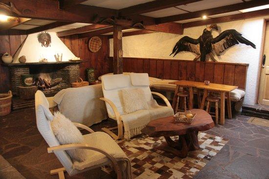 Hotel Posada de Farellones: Lounge / Sala de Estar
