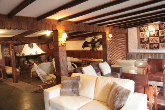 Hotel Posada de Farellones: Lounge