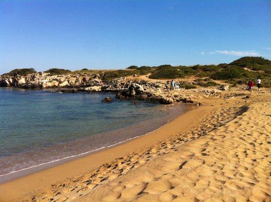 B&B Sognando Ortigia : Beautiful beach only 10 mins drive away!