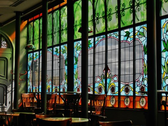 Museo Casa Lis de Art Nouveau y Deco: cafeteria Casa Lis