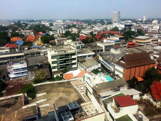 أمورا هوتل تشيانج ماي: Aussicht vom 9. Stock