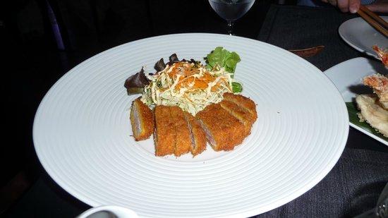 Romeo Hotel - Japanese dinner - pork tonkatsu