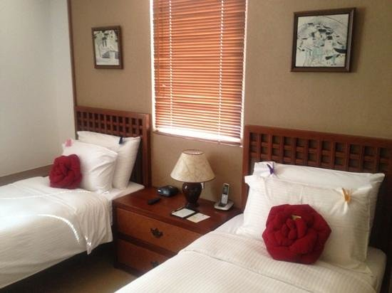 Butterfly on Wellington: bedroom