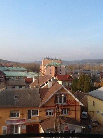 Hotel Palace Heviz: Ausblick in die Nachbarschaft