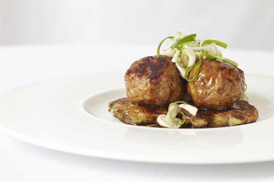 Erie Grill: Duck Meatballs