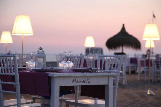 Matrimoni Spiaggia Ostia : Cena sulla spiaggia foto di mamaflo restaurant lido