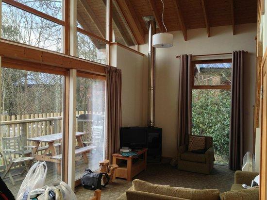 Forest Holidays Keldy, North Yorkshire: Lounge area