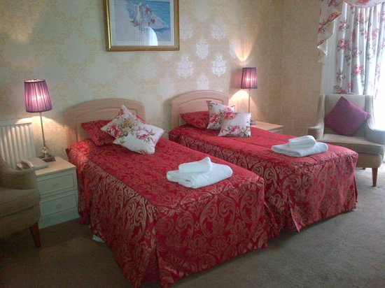 Lamphey Hall Hotel : Ground Floor Standard Twin Room