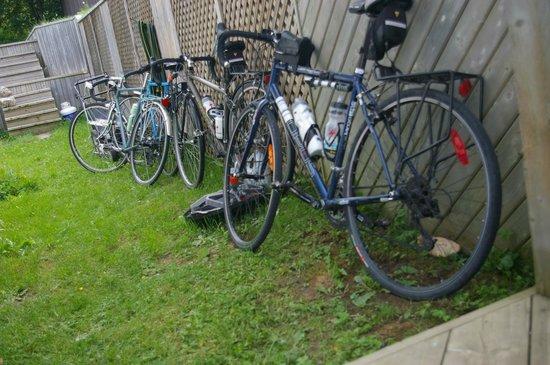 Auberge Jeunesse la Merluche: bienvenue aux cyclistes!