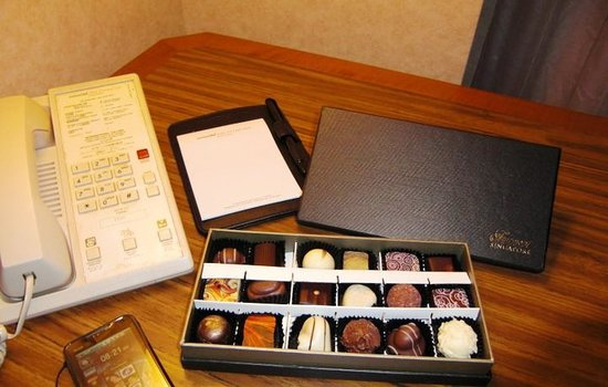 Fairmont Singapore: welcome gift