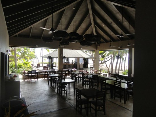 Yasawa Island Resort and Spa: main porch where meals were served