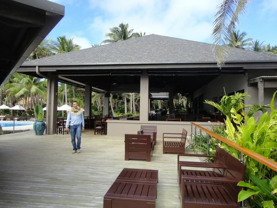 Yasawa Island Resort and Spa: main porch