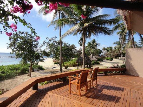 Yasawa Island Resort and Spa: room terrace