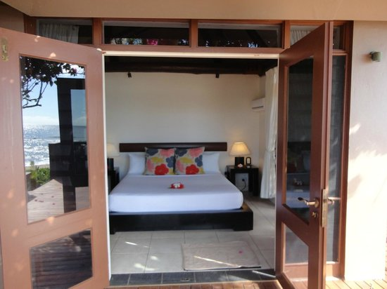 Yasawa Island Resort and Spa: bedroom from terrace