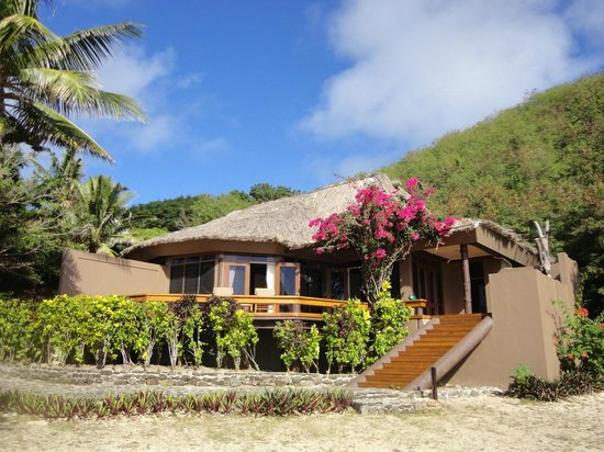 Yasawa Island Resort and Spa: our bungalow nr 1 external view