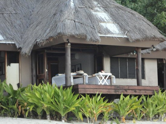 Yasawa Island Resort and Spa: Spa massage room