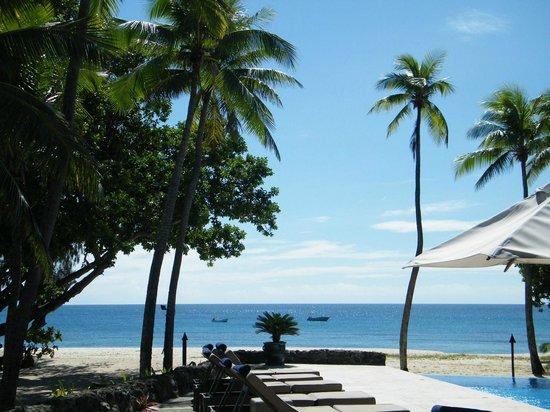 Yasawa Island Resort and Spa: pool area