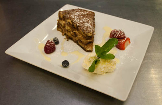 Alcock & Brown Hotel: Great Desserts