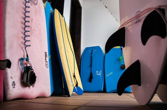 Surf SUP and Kite school Zoopark Famara and shop