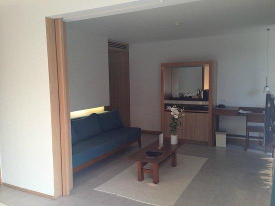 Nap Patong: Lounge area