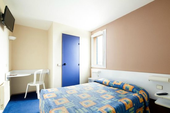 Hotel Mister Bed Orleans Saran : Chambre double