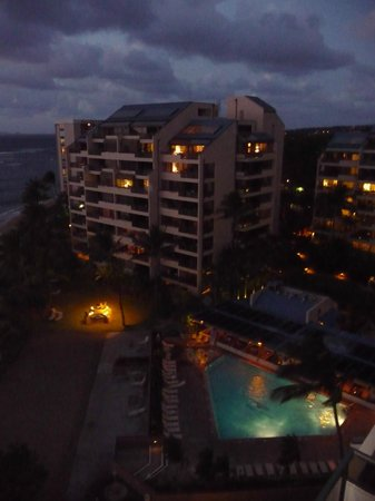 Sands of Kahana: From bldg 3 evening