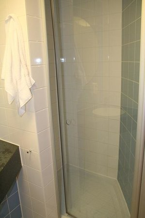 Adagio Access Strasbourg Illkirch: Shower is comperably small, but very convenient