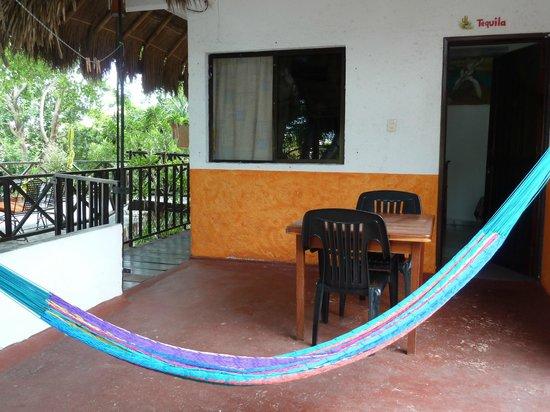 Hotel Casa Tucan: TERRASSE