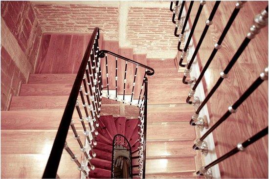 Hostal Madrid: interior