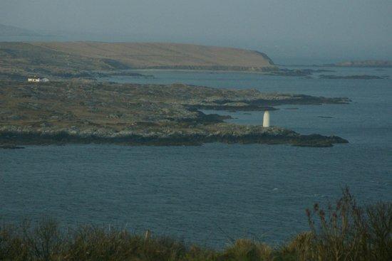 Clifden Bay Lodge: Vue sur la baie de Clifden