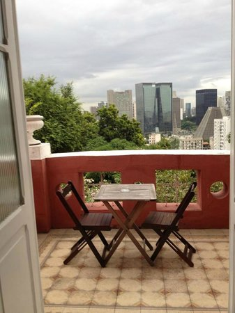 Bossa in Rio Hostel: View from the supreme suite