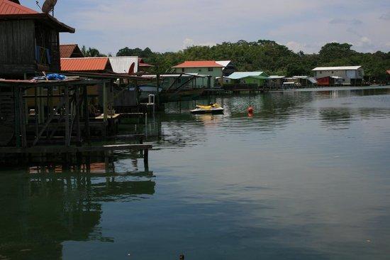 Koko Resort: View from our bungalow's walkway