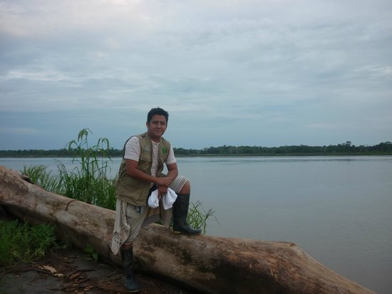 Amazon Reise Eco Lodge: mike en el paraiso!!!