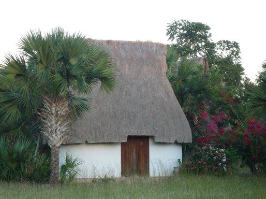 Complexe Munha Uxmal : adorables cabanas