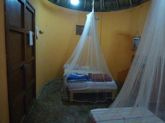 Complexe Munha Uxmal : un lit double + un lit simple