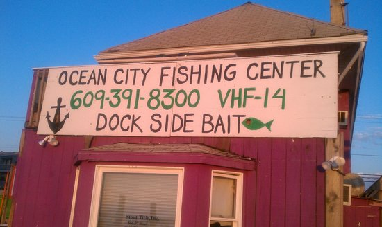 World record blackfish 25lb caught on 1 20 98 aboard the for Ocean city fishing center