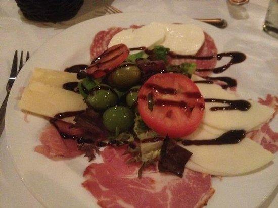 Iozzo's Garden of Italy: The antipasto salad