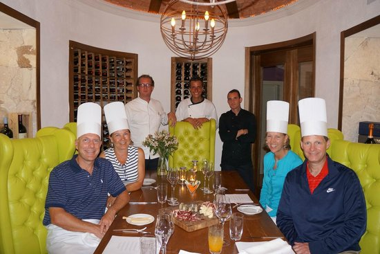 Eden Roc at Cap Cana: Taste of Eden cooking adventure with chefs John, Mauro and Guendal