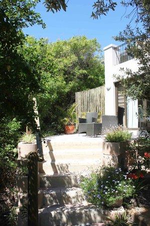 The Robberg Beach Lodge: Garden Courtyards at Cordovan Villa