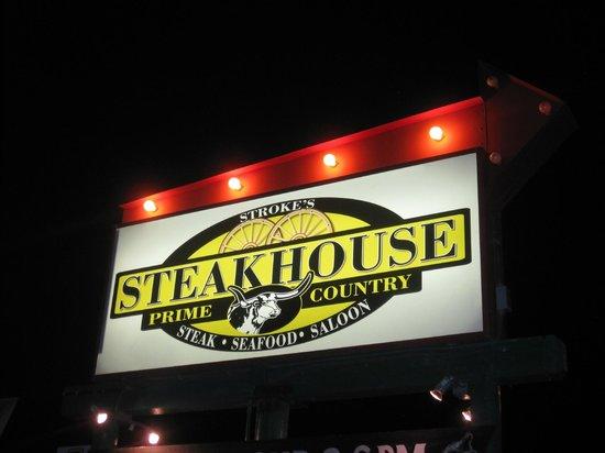 Stroke's Bar & Grill : Steakhouse
