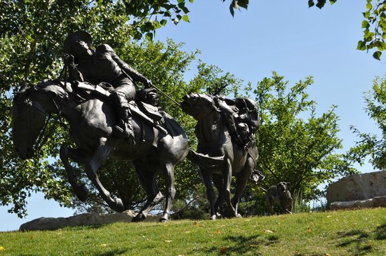 First National's Spirit of Nebraska's Wilderness and Pioneer Courage Park: Westward Ho!