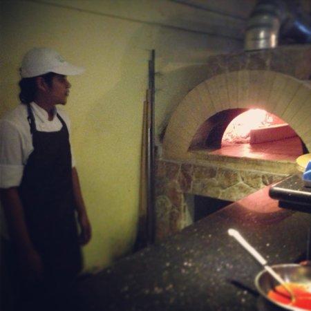 La Bocca Italian Restaurant and Pizzeria : Wood fire oven